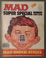 Mad Magazine Super Special Mad Shock-Sticks No.27 1978