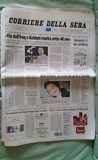 CORRIERE DELLA SERA ATENE 2004 25 AGOSTO MONTANO CHECHI CASSINA VEZZALI TRILLINI