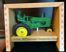 John Deere A Tractor & Driver 1/16 Ertl 1986 40th Anniversary Commemorative 7090