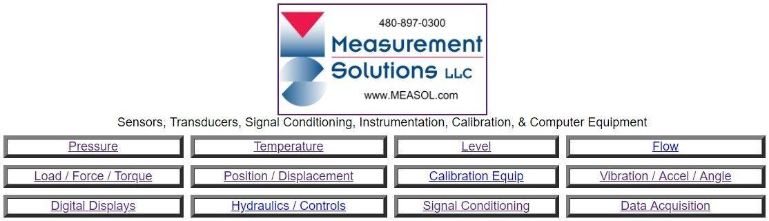 Measurement Solutions