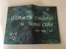 LE CABINET DE CURIOSITÉS THOMAS ERBER NEW-YORK 2013 KITSUNÉ LUXE BOOK SEXY PHOTO