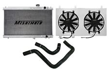 MISHIMOTO Radiator+Fan Shroud+Hose Kit Black 94-01 Acura Integra MT DC2