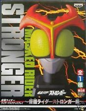 Used Banpresto Masked Kamen Rider Stronger Mask Display PAINTED