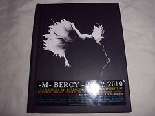 -M- BERCY 17.12.2010 LES SAISONS DE PASSAGE Franz. Rock/Pop Live Musik Blu-ray!!