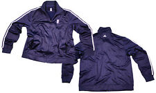 NBA Logo Adidas 3 Stripes Track Jacket Full Color Navy | Many Sizes Available!
