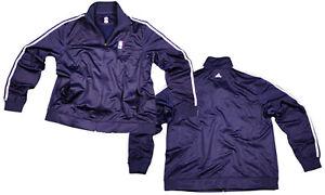 NBA Logo Adidas 3 Stripes Track Jacket Full Color Navy | Many Sizes Available!