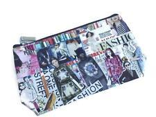 Cute Retro Magazine Cover Design Make Up Bag Purse Clutch Pencil Case