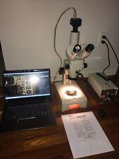 Nikon Smz 2t 10 63x Stereozoom Microscope Camera Fiber Optic Lighting Trans Epi