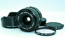 【MINT】Canon New FD 28mm f/2.8 NFD Wide Angle MF Lens from Japan # 188