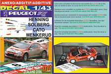 ANEXO DECAL 1/43 PEUGEOT 307 WRC H.SOLBERG R.NEW ZEALAND 2006 12nd (02)