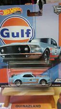 Hot Wheels Gulf '69 Ford Mustng Boss 302 (NG8)