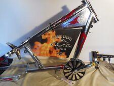 Schwinn OCC Chopper Stingray Bicycle Part - Bike Frame Chrome Red Flame New