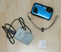 CANON PowerShot D30 Digitalkamera, 12.1 Megapixel 5x opt. Unterwasserkamera Zoom