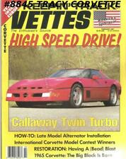 FEBRUARY 1991 KEEPIN' TRACK OF VETTES 78 Silver Anniversary Reeves Callaway
