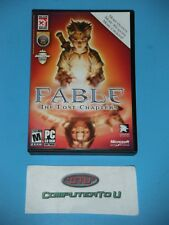 FABLE THE LOST CHAPTERS CD-ROM PC GAME
