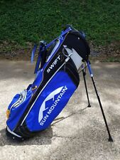 Sun Mountain Swift X Stand/Carry Golf bag with 2 way dividers Nice!