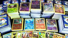 POKEMON 50 CARD LOT - 50 CARDS BULK LOT 3 HOLOS 5 RARES 100% AUTHENTIC MINT NM!