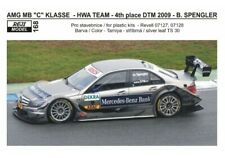 DECAL: 1/24 REJ168 2009 HWA TEAM MERCEDES C- CLASS DTM SPENGLER