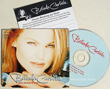 BELINDA CARLISLE CD Always Breaking My Heart #2 Heaven / Circle / I Get + P'CARD