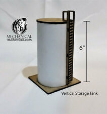 Vertical Storage Tank  40k terrain Infinity the game 28mm terrain Dust Tactics