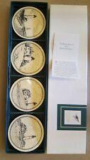 Stephen Barlow Design Lighthouse Scene 4 Piece Coaster Set In Box