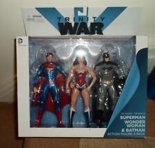 DC TRINITY Wars Superman Wonder Woman Batman Pack 3 Figurine Justice League