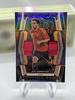 2020 Panini Obsidian Xavi Hernandez Cutting Edge Dual Patch #/50 Spain 2 Color!