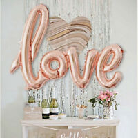 Love Letter Birthday Wedding Fresh Marriage Decoration LOVE Foil Ballons 42""