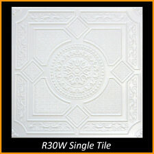 20x20 Styrofoam Glue Up Ceiling Tiles R30W 295.68 Sq Ft 112 Pcs Lot