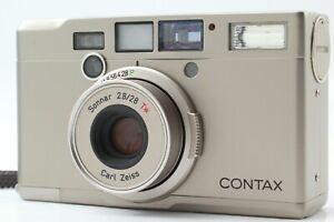 [Near Mint] Contax T IX Carl Zeiss 28mm F2.8 APS Point & Shoot from JAPAN #9989