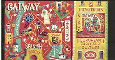 Irland, 2020, Europ Kultur Hauptstadt /Galway-Rijeka, 2345 - 46, Block 117 **