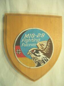 Bundeswehr Jagdgeschwader 73 - MIG-29 Fighting Fulcrum Verbandsabzeichen Wappen