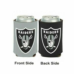 New Raiders Football League Licensed Can Cooler Drink Cooler  - 1 PC
