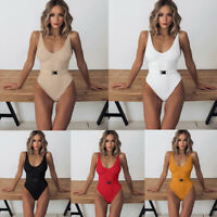 Fashion Sexy One-Piece Swimsuit Beachwear Swimwear Monokini Bikini Bathing Suit