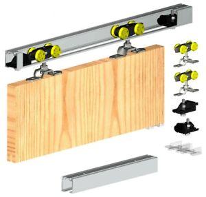 Hercules Sliding Door Track Gear System 60kg/1200mm (1 door) Top Hung Kit Set
