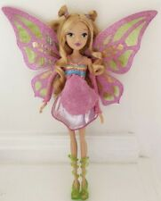 "WINX Club Good vs Evil FLORA Doll With Wings 11.5"" Enchantix Jakks Collectors"