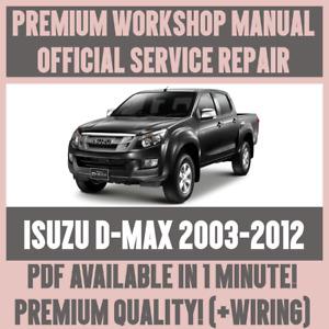Isuzu Workshop Manuals Car Service Repair Manuals For Sale Ebay