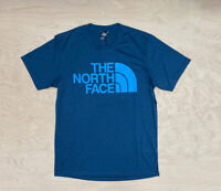 The North Face Reaxion Easy T Shirt Blue Wing Teal Heather Flash Dry SS Mens