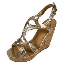 JILLIAN Delicious Women's Strappy High Heel Wedge Sandals