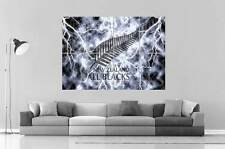 All Blacks Rugby Logo Wall Art Poster Grand format A0 Large Print 02