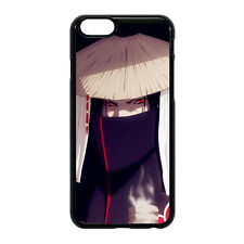 NARUTO Akatsuki Uchiha Itachi Hard Case Cover For Apple iPhone Samsung Galaxy