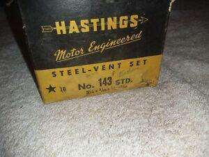 Hastings 687S040 Single Cylinder Piston Ring Set