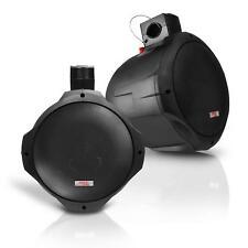 NEW Pyle PLMRB65 Pair of 6.5'' 200 Watt 2-Way Black Wake Board Speakers