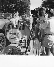 JACQUES TATI Tacot HULOT Voiture Tournage SALMSON Camera DINO Photo 1953 #2