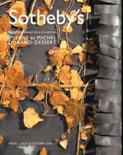 SOTHEBY'S CEUVRES PROVENANT DE LA COLLECTION LILIANE ET MICHEL DURAND - DESSERT