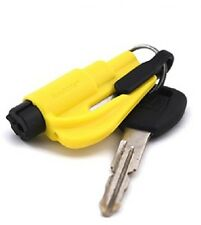 NEW Kroll Yellow RESQME Keychain Window Breaker Rescue Tool