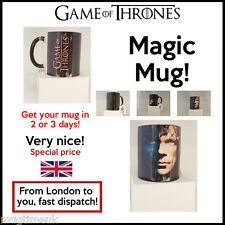 Game of Thrones Changing Magic black heat sensitive Coffee Mug