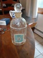 Vintage Guerlain Veritable Eau de Cologne Hegemonienne large bottle w/ stopper