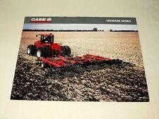 Prospectus Tracteur CASE IH Tandem Disks Articulé  Tractor Traktor  Brochure