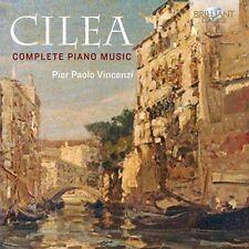 Cilea / Vincenzi - Francesco Cilea: Complete Piano Music [New CD]